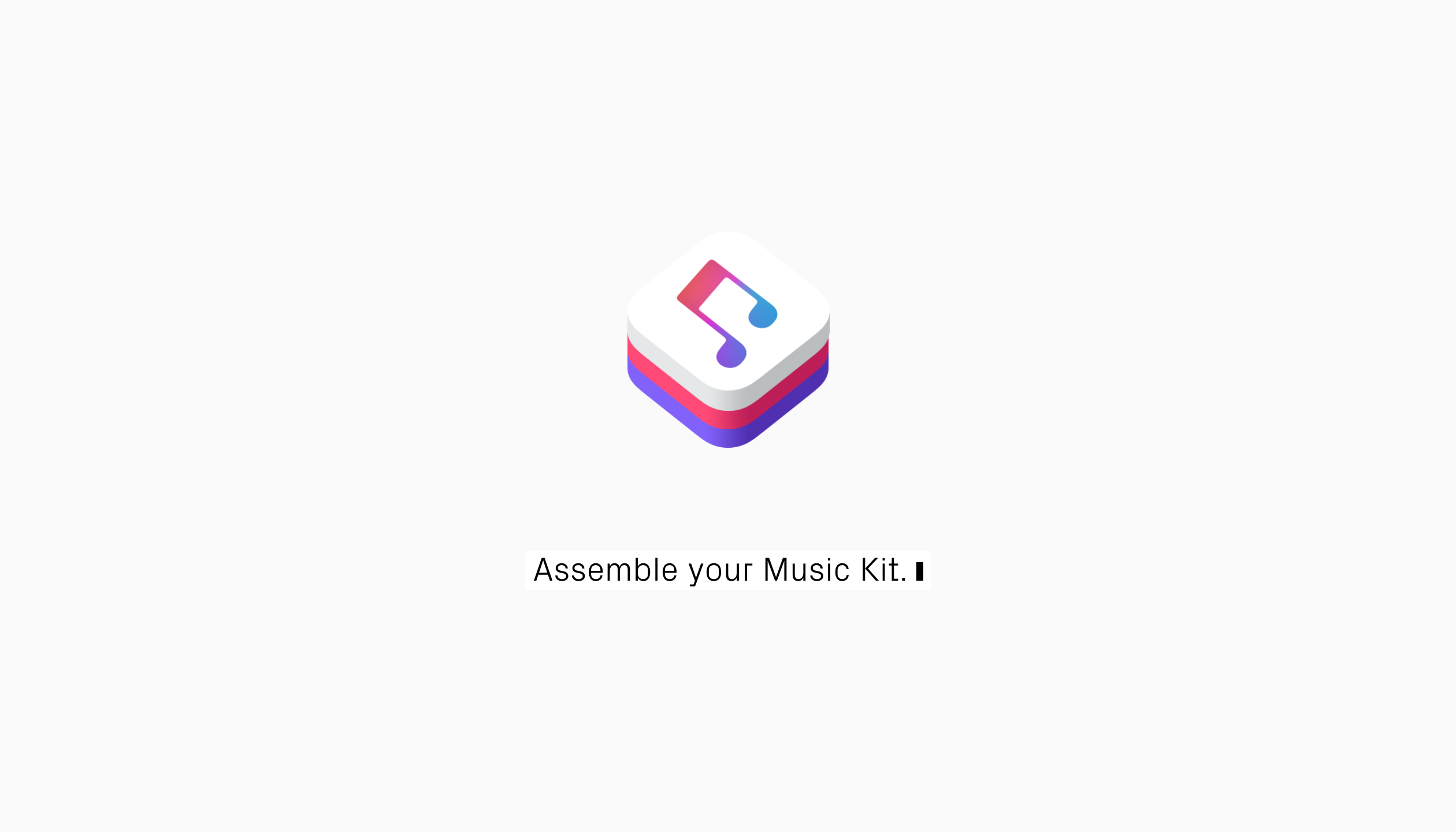 Assemble your Music Kit